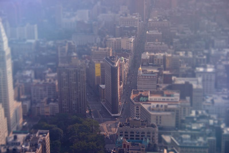 New_york_city_haze_tilt_shift