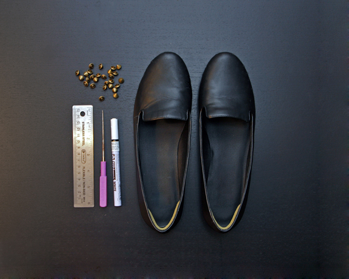 Diy_studded_loafers_supplies